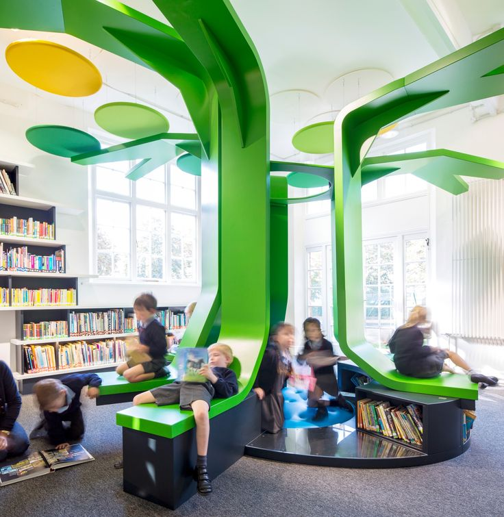 Norwalk Public Library Children's Space On