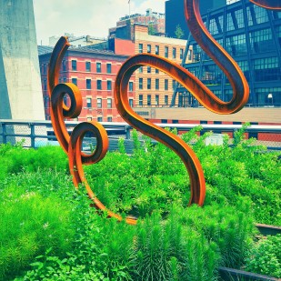 Sculpture on the High Line