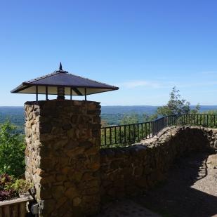 Heublein Tower View