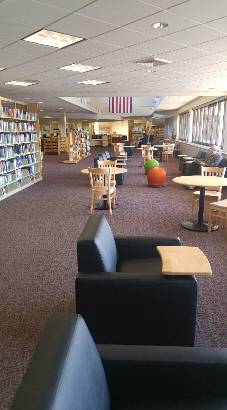 Farmington Library U2013 Main Branch, Updates U201c2nd Level Loungeu201d. 2 Years  Installed And Still Looking And Functioning Great!   INTERIOR DESIGN By 4D  Design ...