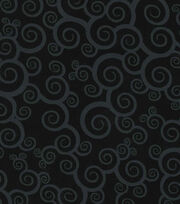 1- Black Swirl
